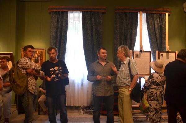 Александр Левченков. Фото с выставки