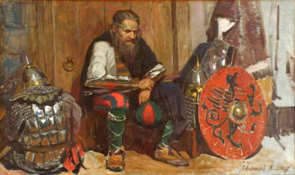 Александр Левченков. Думы о грядущем сражении