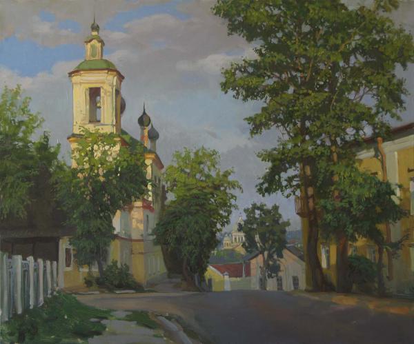 Александр Левченков. Георгиевская церковь в Торжке