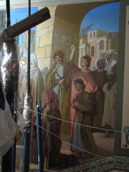 Александр Левченков. Вход Господень в Иерусалим