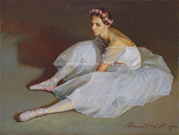 Александр Левченков. 80 Белая балерина