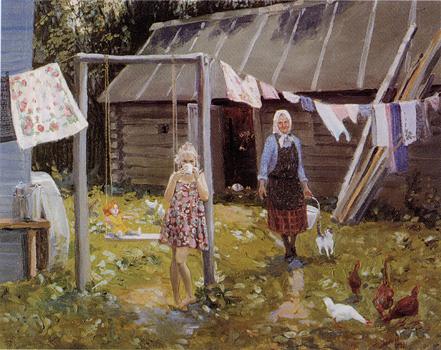 Александр Левченков. Лето в деревне