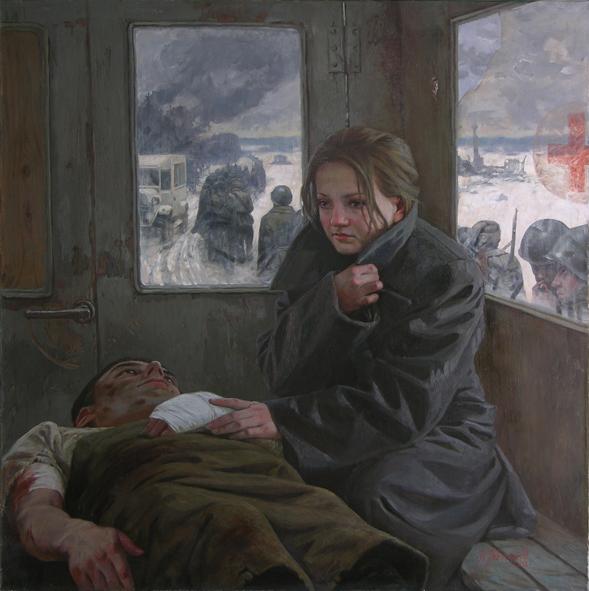 Александр Левченков. Милосердная сестра