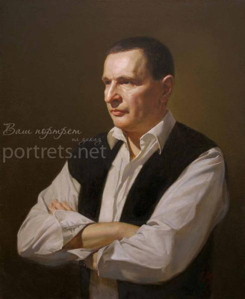 Александр Левченков. Мужской портрет