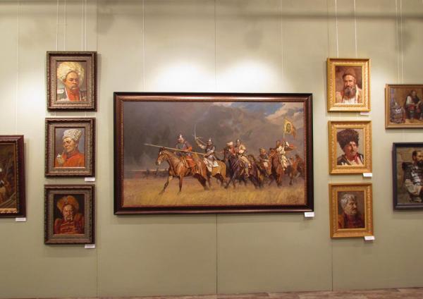 """Александр Левченков. На выставке """"Современность и традиция"""""""