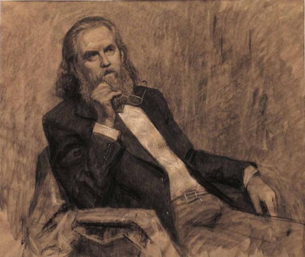 Александр Левченков. портрет старика