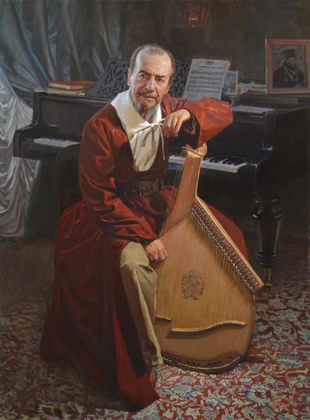 Александр Левченков. пример мужского портрета на заказ
