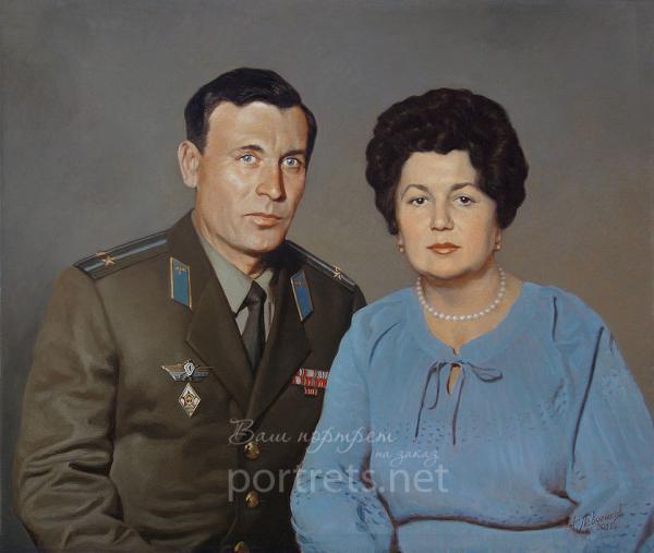 Александр Левченков. Парный портрет