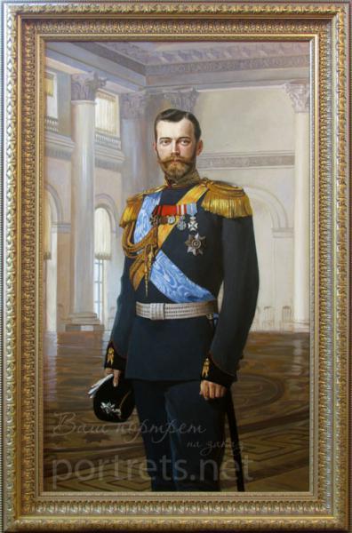 Александр Левченков. портрет Николая II