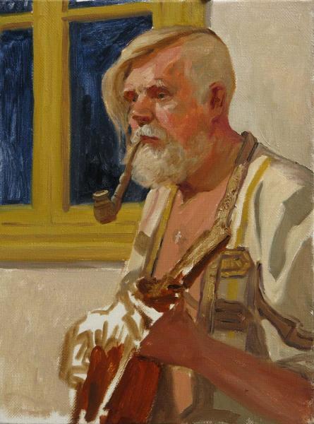 Александр Левченков. Портрет казака Михаила Скворцова