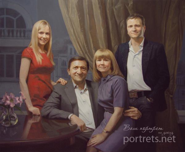 Александр Левченков. Семейный портрет