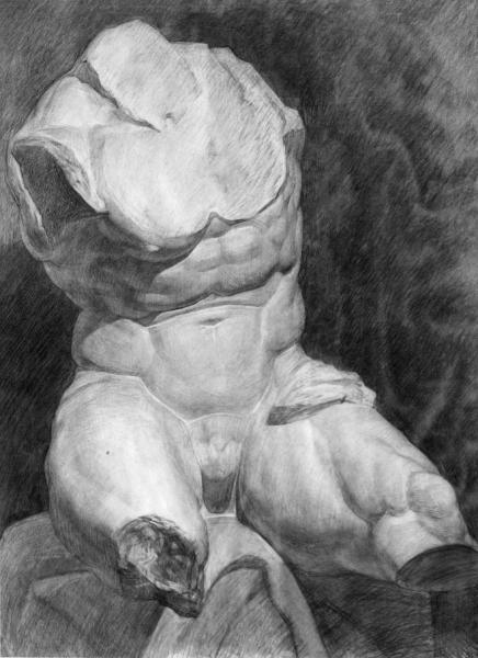 Александр Левченков. Торс