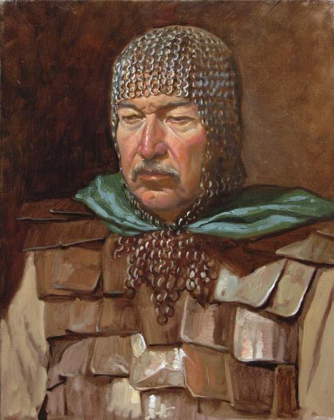 Александр Левченков. Витязь в кольчужном капюшоне
