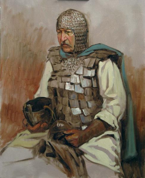 Александр Левченков. Витязь в седле