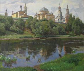 Александр Левченков. Торжок. Ансамбль Борисоглебского монастыря
