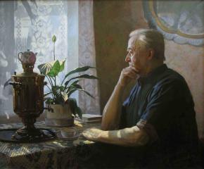 Александр Левченков. Заслуженный художник РСФСР.  Антипов Николай Петрович
