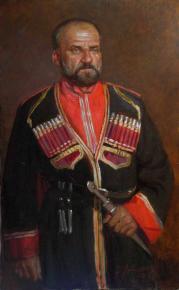 Александр Левченков. Чебанов В И артист Кубанского Казачьего хора (бас)