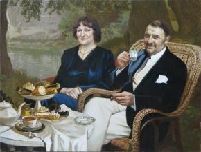 Александр Левченков. Двойной семейный портрет