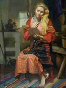 Александр Левченков. Голубые бусы