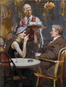 Александр Левченков. Кафе