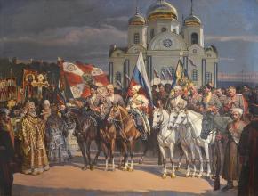 Александр Левченков. Мобилизация казаков в Екатеринодаре. 1914г.