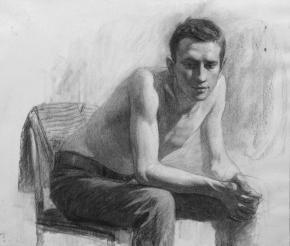 Александр Левченков. Натурщик