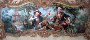 Александр Левченков. Цветок и персики