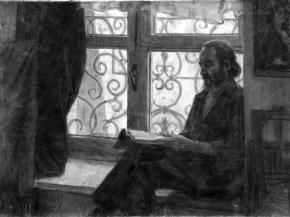 Александр Левченков. У окна