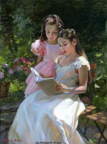 Александр Левченков. В саду