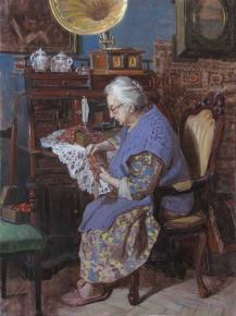 Александр Левченков. В старой квартире