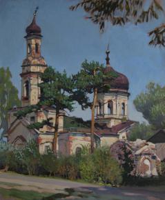 Александр Левченков. Заброшеная церковь. Торжок